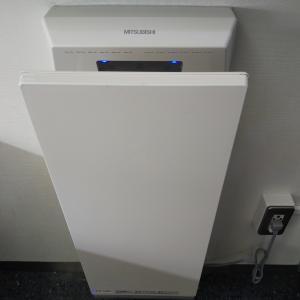 トイレのハンドドライヤー③(緊急事態宣言発令だけど使用再開に)