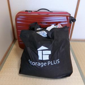 スーツケース引っ張ってコインランドリーへ