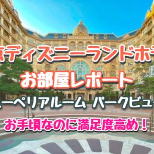 ディズニーランドホテル☆スーペリアルーム(パークビュー)宿泊記ブログ☆ショップ&喫煙所もチェック!