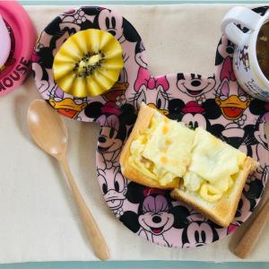 朝ごはん♩【ポテサラトースト】
