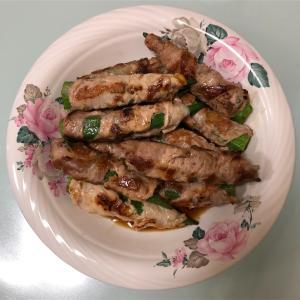 今日の夕飯♩オクラの肉巻き