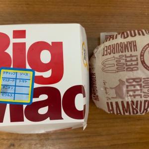 ビックマックとハンバーガー