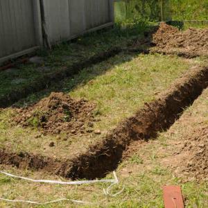 庭に飼育場を作る