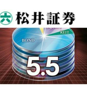 【信託報酬0.789%】松井証券でグローバル5.5倍バランスファンド取扱い開始!