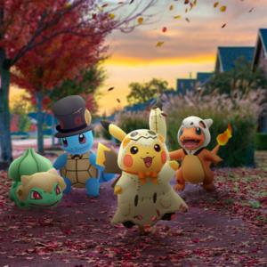 ポケモンGO ハロウィンイベント2019「ダークライ」「ミミッキュ ピカチュウ」「デスマス ゼニガメ」ゲットの巻