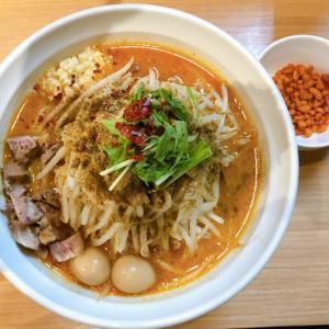 らー麺 シャカリキ@平岸 限定:ゴマ味噌-カラシビ-