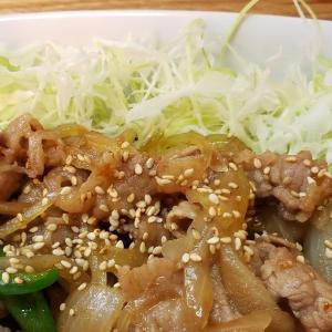 青森県三沢市の飯屋でB級グルメのバラ焼き定食🍴