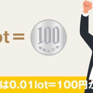 GEMFOREXの最小ロット数=0.01Lot