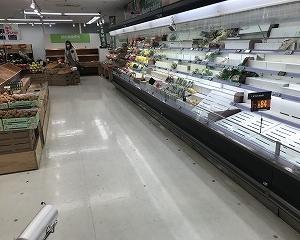 食糧難時代到来!?スーパーに異変