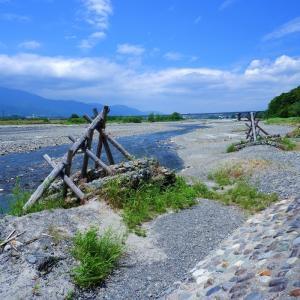 伝統的河川工法水制工甲州流川除け法牛枠類聖牛の中聖牛