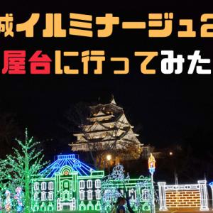 大阪城イルミナージュの感想は?幻想的な景色と屋台グルメ