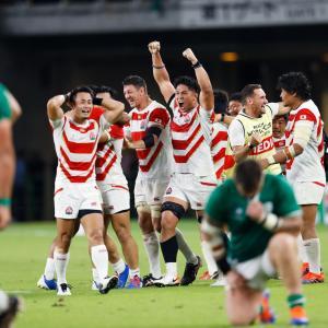 【ラグビー W杯】日本のアイルランド戦金星を大絶賛!<海外メディア>
