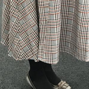 靴が合うと嬉しくなります~Happy to have shoes matching