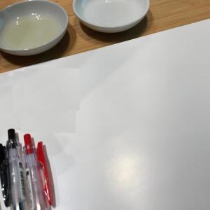 油絵を描くとき ~Oil Painting