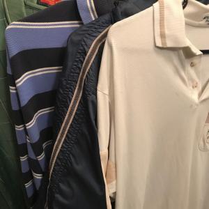 父の洋服の洗濯