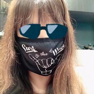 マスクで自己主張?