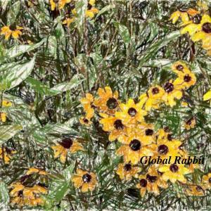 好きだから..描く-35 ~ 夏の花