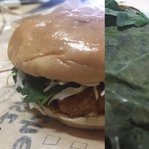 お昼は、TV 「お願いランキング」で満点を取ったハンバーガー