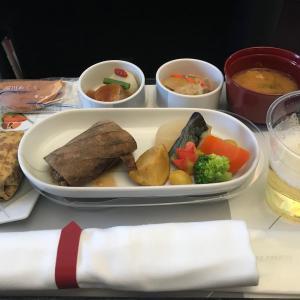 2021年9月 JAL国内線機内食(羽田着昼食)