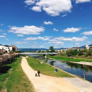 三条大橋と三条京阪と高校時代