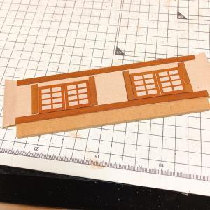 ドールハウス作成 柴又のうなぎ屋 2