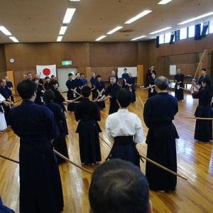 日本剣道形講習会、及び、合同稽古会など(2019年9月29日)