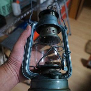灯油ランタンのオイル漏れ修理