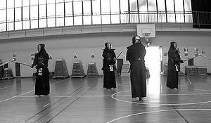 島本町、無門会での稽古(2020年9月21日)