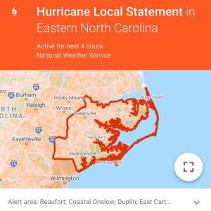 また、ハリケーンだ!