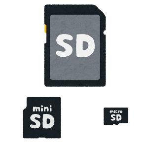 SDカードの規格まとめ