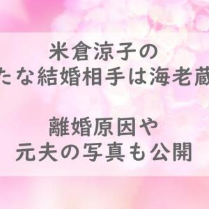 米倉涼子の新たな結婚相手は海老蔵?離婚原因や元夫の写真も公開