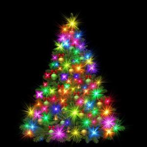 クリスマスツリーはタペストリーツリーに!貼り方は?賃貸でも安心!
