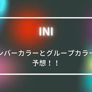 INI(アイエヌアイ)のメンバーカラーとグループカラー予想!決め方なども!