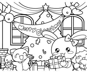 ぬりえワールドクリスマス企画開催中!プレゼント抽選もあるよ!