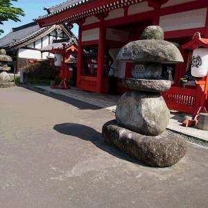 「時代村大手門前に山灯篭」 忍者的心 その1441
