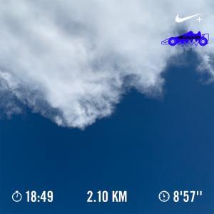 kamurock running 〜第2歩〜 「朝ラン(ウォーク)始めてみた」 #ランニング #ウォーキング #記録