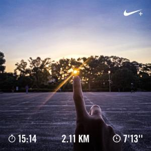 kamurock running 〜第9歩〜 「初 夜ラン」 #ウォーキング #NRC