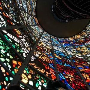 箱根旅行2日目① ステンドグラス好き❤『幸せをよぶシンフォニー彫刻』とハグ君