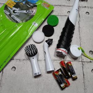電動お掃除ブラシが使える~!シンクなど水回りのお掃除の強い味方に♡