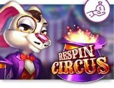 他のカジノにはあまりないゲーム「RESPIN CIRCUS」は浮き沈みなくいい感じでおススメ