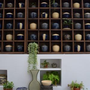 【ベトナム・ホーチミン旅行】藍色の食器のお店「Tuhu ceramics」