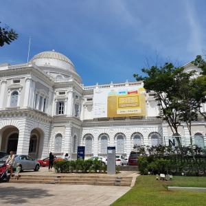 移住を決めた理由を改めて思い返す-日本語ガイドさんと歩くシンガポール国立博物館