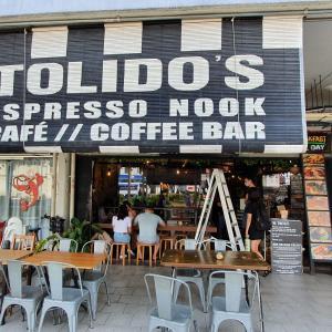 ラベンダー駅近くで行列のできるカフェ「Tolido's Espresso Nook」