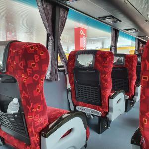 SIN→KL 快適なバスの旅【マレーシア・クアラルンプール旅行】