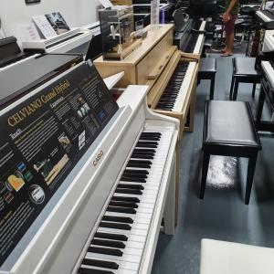 電子ピアノを探しに、ウビの「The Pianist Studio」へ