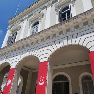 なぜコロナ禍にシンガポールにいるのか確認するためにNational Museumに行ってみた独立記念日。
