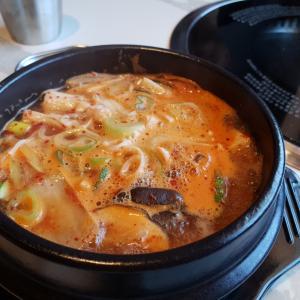 新しい韓国料理店