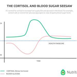 糖尿病の私が常に悩まされるコルチゾールと血糖値の関係