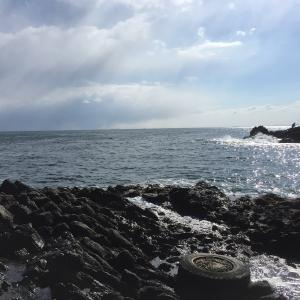 高島岬 カレイ狙いで久々の投げ釣り!