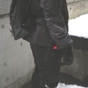 寒冷地向け♪全身ワークマン!な夫の通勤スタイルがついに完成♪